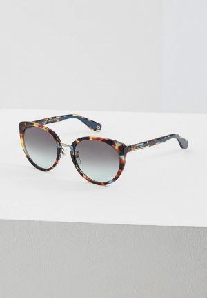 Очки солнцезащитные Marc Jacobs 281/F/S FZL. Цвет: коричневый