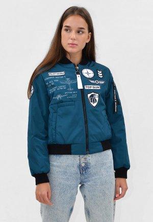 Куртка утепленная Doctor E. Цвет: бирюзовый
