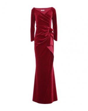 Длинное платье CHIARA BONI LA PETITE ROBE. Цвет: красно-коричневый
