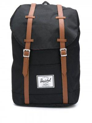 Рюкзак с кулиской и пряжками Herschel Supply Co.. Цвет: черный