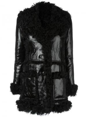 Пальто Eugenie American Retro. Цвет: чёрный