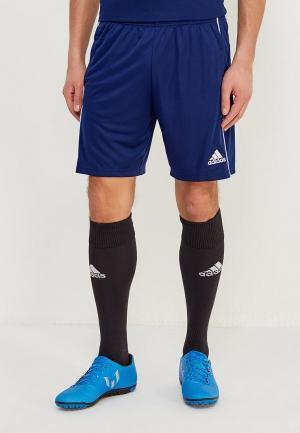 Шорты спортивные adidas CORE18 TR SHO. Цвет: синий