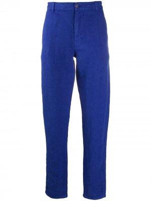 Прямые брюки Aspesi. Цвет: синий
