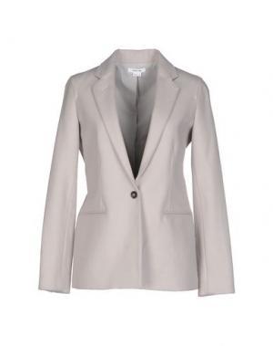 Пиджак HELMUT LANG. Цвет: голубиный серый