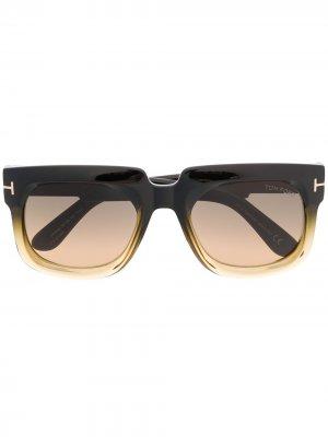 Солнцезащитные очки Christian TOM FORD Eyewear. Цвет: черный