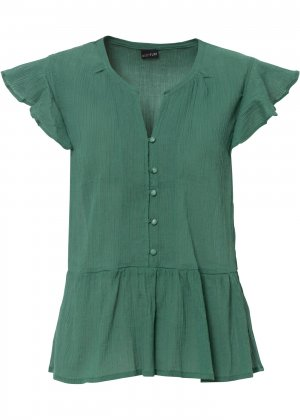 Блузка bonprix. Цвет: зеленый