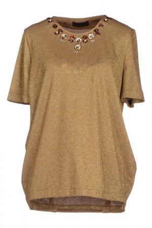 Блуза JO NO FUI. Цвет: бежевый