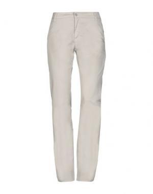 Повседневные брюки NERO GIARDINI. Цвет: серый