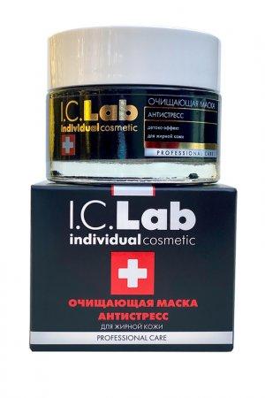 Очищающая маска антистресс I.C.LAB INDIVIDUAL COSMETIC. Цвет: черный