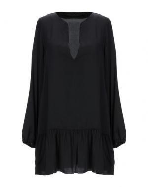 Блузка I-AM. Цвет: черный