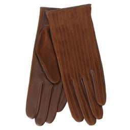 Перчатки HELENE/S коричневый AGNELLE