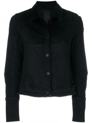 Джинсовая куртка Thom Krom. Цвет: чёрный