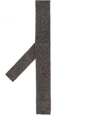 Вязаный галстук Cerruti 1881. Цвет: коричневый
