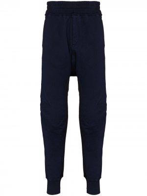 Зауженные спортивные брюки Moonshape Haider Ackermann. Цвет: синий