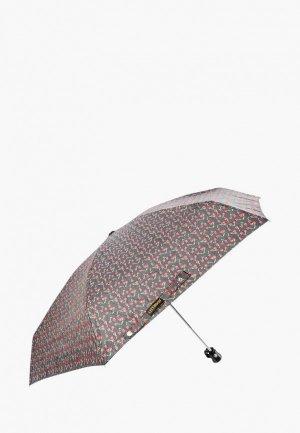 Зонт складной Kawaii Factory. Цвет: черный