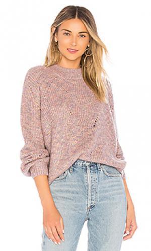 Пуловер pauline Tularosa. Цвет: фиолетовый