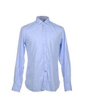 Рубашка с длинными рукавами DEL SIENA. Цвет: небесно-голубой