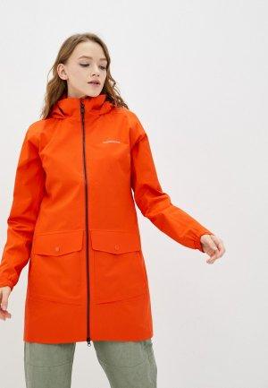 Куртка Didriksons ELVIRA. Цвет: оранжевый