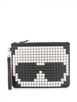 Клатч K/Pixel Karl Lagerfeld. Цвет: черный
