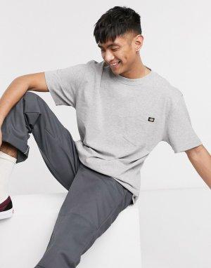 Серая футболка Porterdale-Серый Dickies
