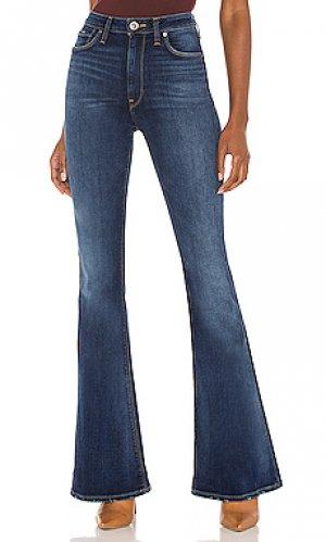 С клёшем holly Hudson Jeans. Цвет: синий