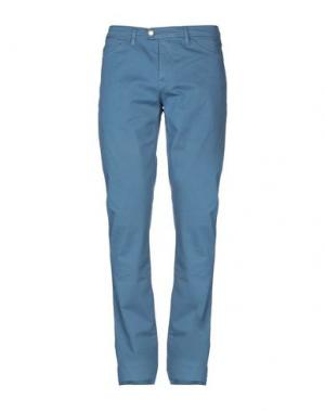 Повседневные брюки HENRI LLOYD. Цвет: грифельно-синий