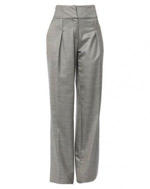 Повседневные брюки FERRE'. Цвет: серый