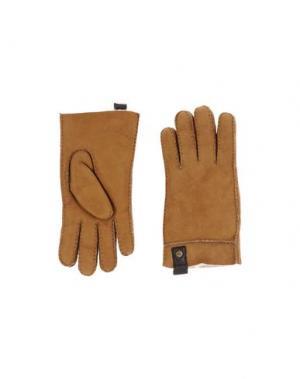Перчатки UGG AUSTRALIA. Цвет: верблюжий