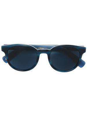 Солнцезащитные очки Wayden Paul Smith. Цвет: синий