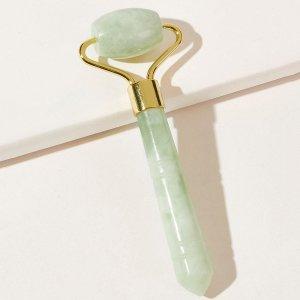 Каменный роликовый массажер SHEIN. Цвет: зелёный