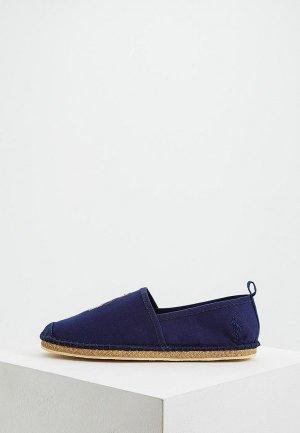 Эспадрильи Polo Ralph Lauren. Цвет: синий