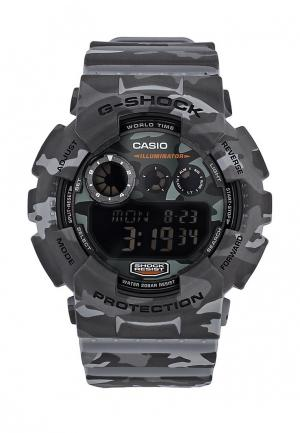Часы Casio G-SHOCK GD-120CM-8E. Цвет: серый