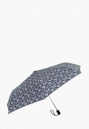Зонт складной VOGUE. Цвет: синий
