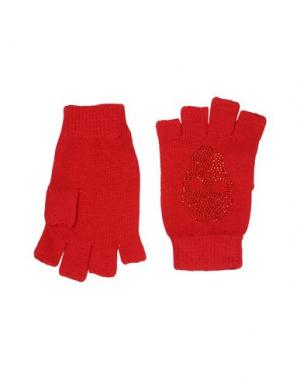 Перчатки AYO. Цвет: красный
