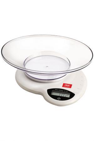 Весы кухонные Calve. Цвет: белый