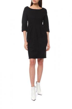 Платье Jil Sander. Цвет: черный, пурпурный