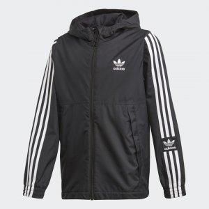 Ветровка Jacket Originals adidas. Цвет: черный