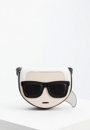 Сумка поясная Karl Lagerfeld. Цвет: разноцветный