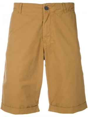 Шорты-чинос Woolrich. Цвет: коричневый