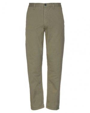 Повседневные брюки DR. DENIM JEANSMAKERS. Цвет: зеленый-милитари