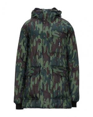 Куртка REFRIGUE. Цвет: зеленый-милитари