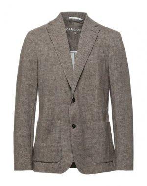 Пиджак CIRCOLO 1901. Цвет: коричневый