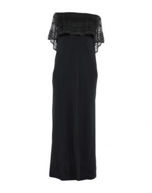 Длинное платье I BLUES. Цвет: черный