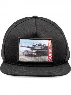 Пятипанельная кепка Tank Supreme. Цвет: черный