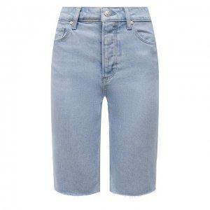 Джинсовые шорты Paige. Цвет: голубой
