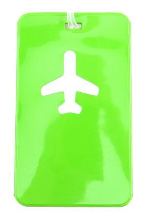 Бирка для багажа ROUTEMARK. Цвет: зеленый