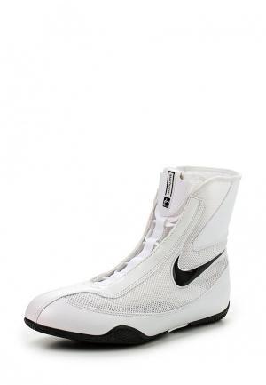 Боксерки Nike OLY MID. Цвет: белый