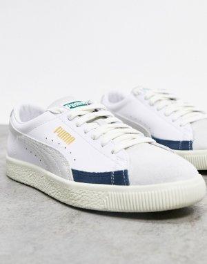 Белые кроссовки Basket-Белый Puma