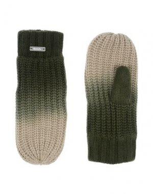 Перчатки BENCH.. Цвет: зеленый-милитари