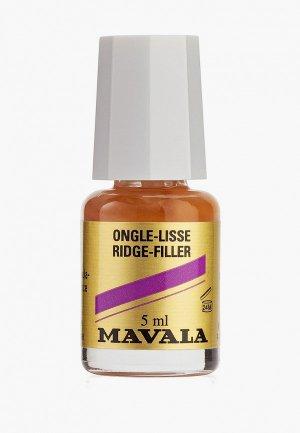 Базовое покрытие Mavala для выравнивания ногтей Ridgefiller 5 ml. Цвет: бежевый